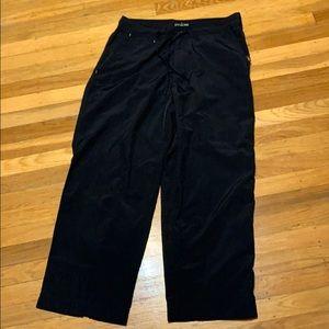 REI women Hiking black Pant size 12